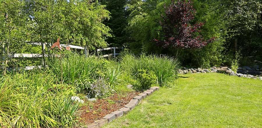 Leben im und mit dem Garten
